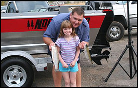 Great Family Fun at Shasta Lake Trout Derby